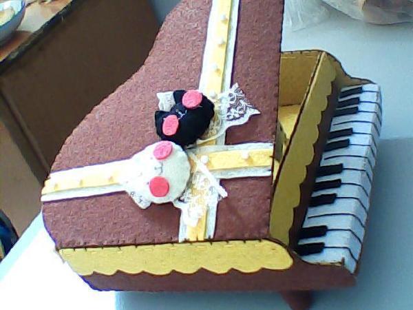 钢琴收纳盒(不织布)