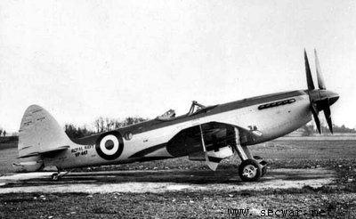 喷火式战斗机是于秀泼马林公司的s6b水上飞机发展而来,所以其被重新