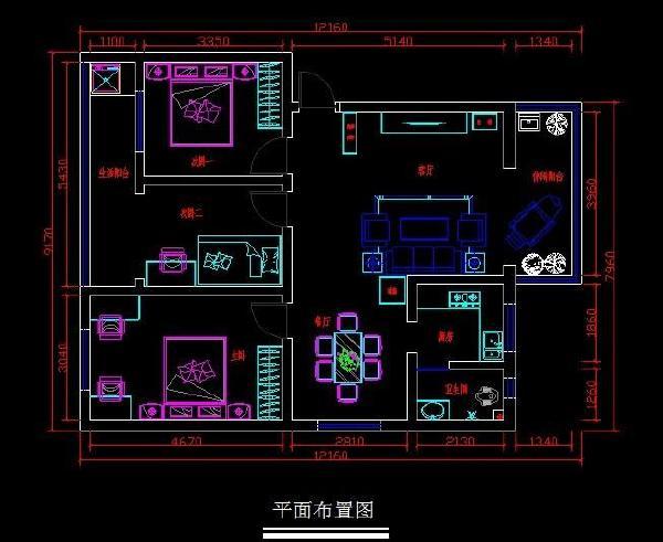 卫生间改水电设计图展示