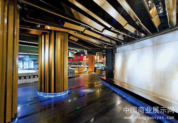 哈尔滨新天地海鲜自助餐厅空间设计