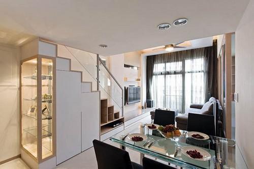 98平米自制loft隔层的设计展示