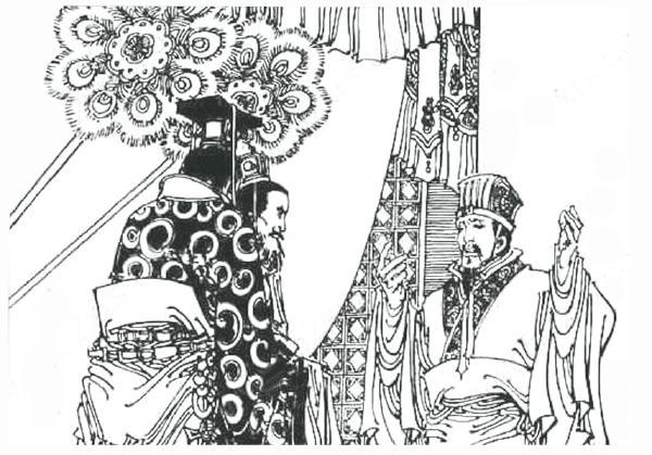 古代读书人简笔画