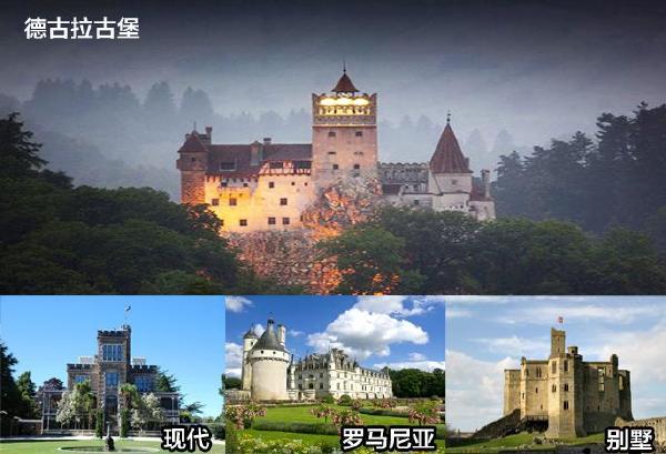 探讨古堡别墅效果图,看遍欧式别墅外观设计
