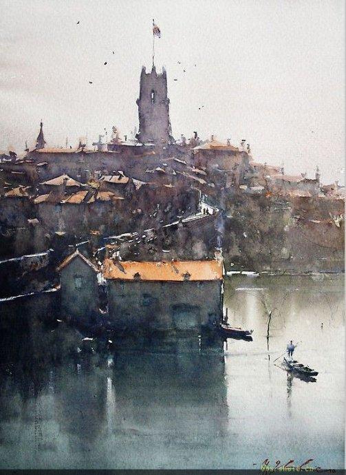 澳大利亚水彩画家约瑟夫(二)