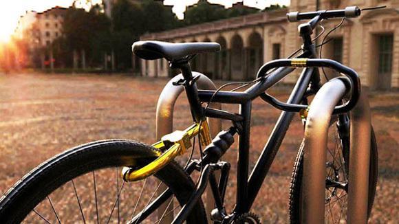 【创意设计】自行车锁