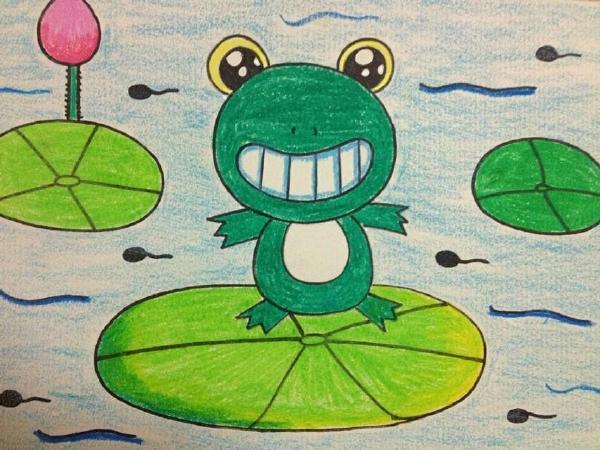 创意儿童画油画棒 > 优秀油画棒教师范画