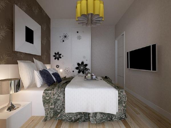 郁金香花苑-二居室-62平米-装修设计