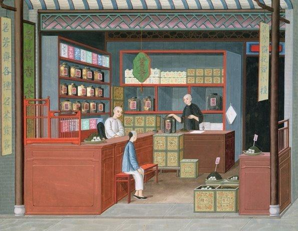 古代店铺室内设计