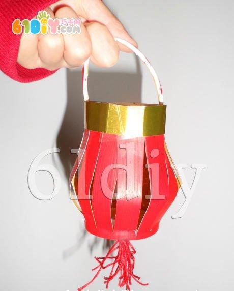 元宵节手工——纸杯小灯笼