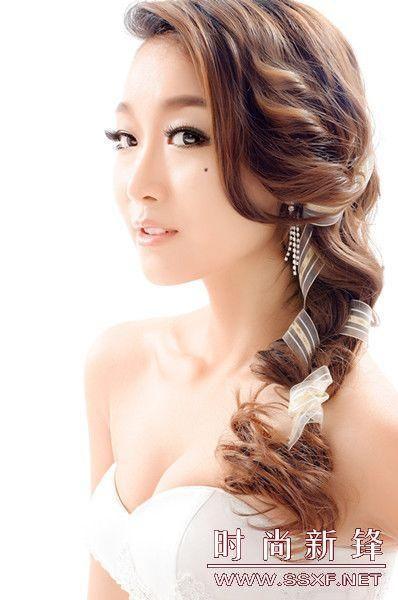 韩式新娘造型の俏皮,可爱