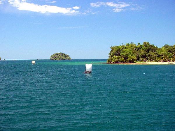 马达加斯加岛的海景风光