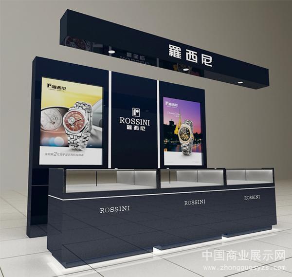 rossini罗西尼品牌形象柜台设计效果图