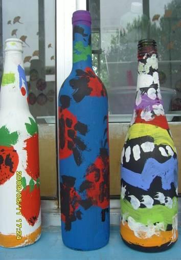 瓶子纸筒纸盒创意