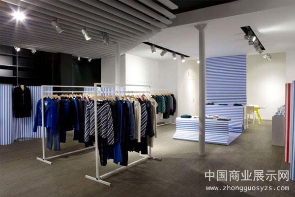 巴黎c x faconnable服装店店铺设计