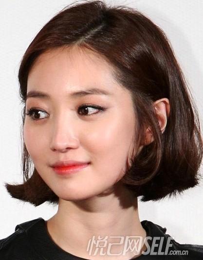 """大牌韩式短发烫发发型; 韩星示范13款最具""""韩范儿""""发型; 韩式短发烫发"""