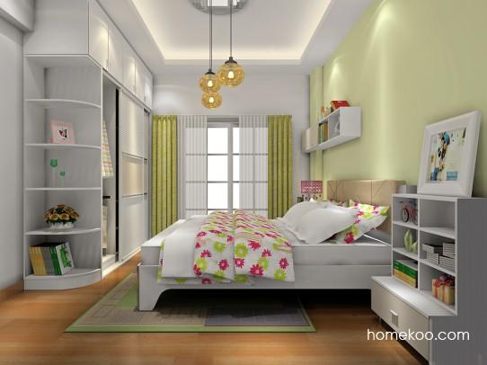 哪里有卧室床头吊柜装修设计效果图
