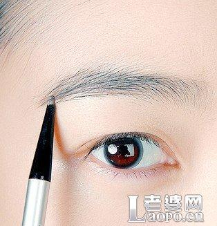 怎样画眉毛 化眉毛的技巧步骤图解图片