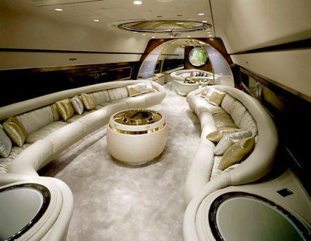 """全球顶级富豪""""昂贵""""品味——私人飞机"""