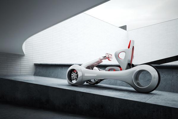 概念电动车设计图分享展示