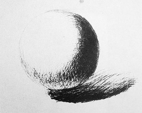美术入门 素描几何形体教程:圆球体的理论知识和写生讲解