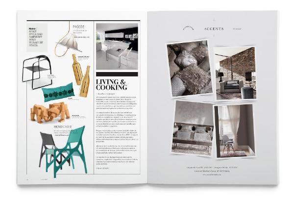 时尚及时装杂志版式设计