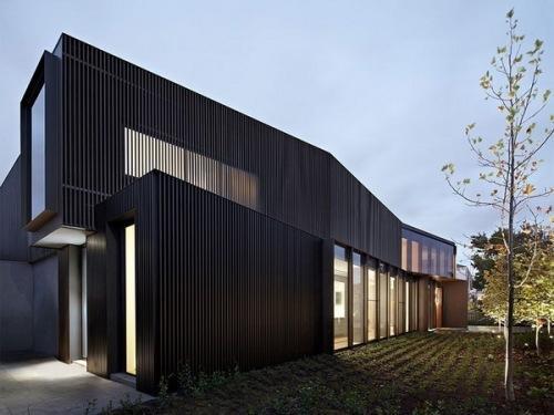 墨尔本的现代别墅建筑设计
