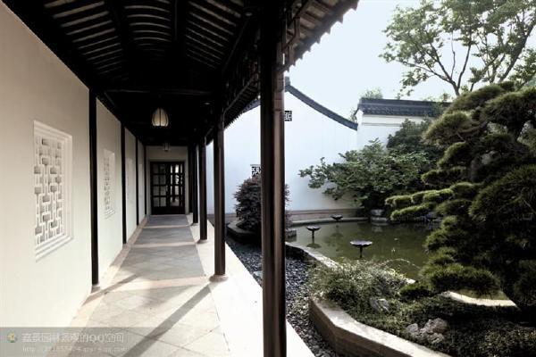 比例很美韵味十足的中式建筑园林设计设计手法