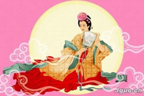 中国关于月亮的神话,最早载于《山海经》