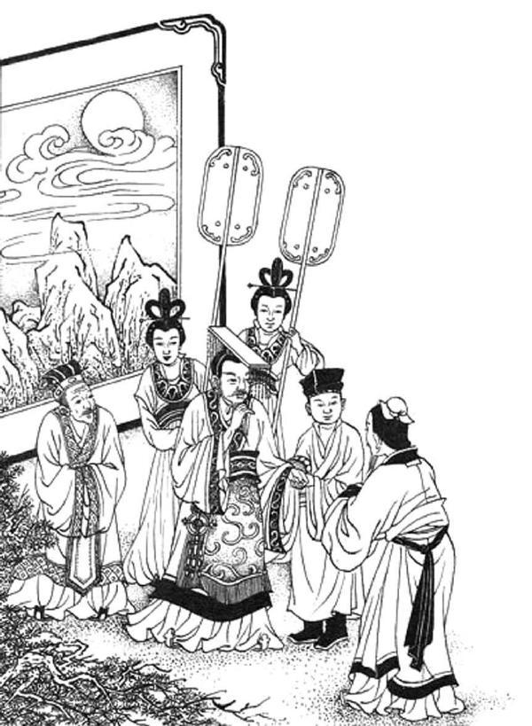 素描欧式贵族宫廷盘子