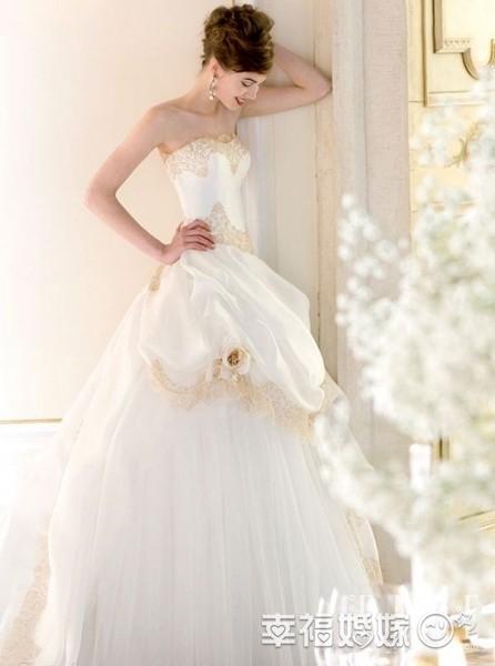 复古宫廷婚纱 做19世纪欧洲奢华贵族