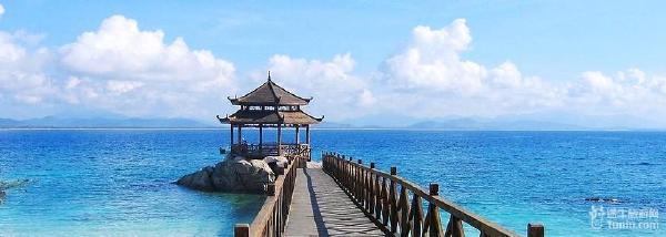 蜈支洲岛集热带海岛旅游资源的丰富性和独特性