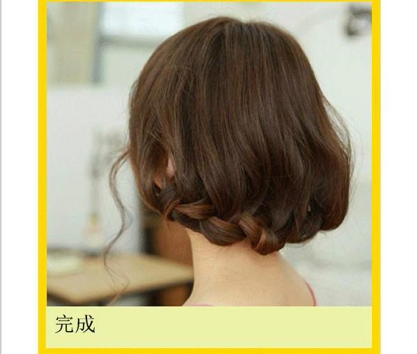夏季编头发编头发方法分享展示