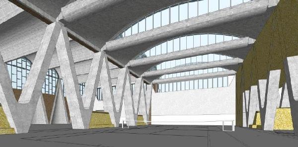 钢结构框架-中心支撑束筒的结构体系