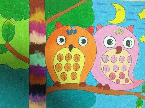 儿童画的课程设置与范画
