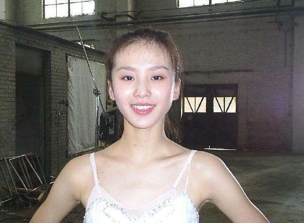 刘诗诗是芭蕾舞出身的图片