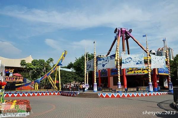 《畅游天下报》 深圳欢乐谷    今年,深圳欢乐谷已经整整