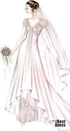 婚纱手绘图 微刊 - 悦读喜欢