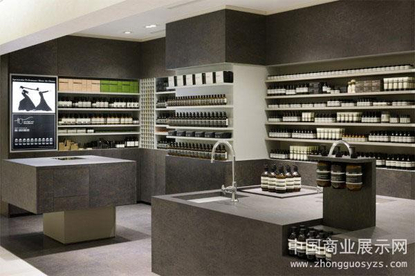 东京伊索(aesop)化妆品店门店设计