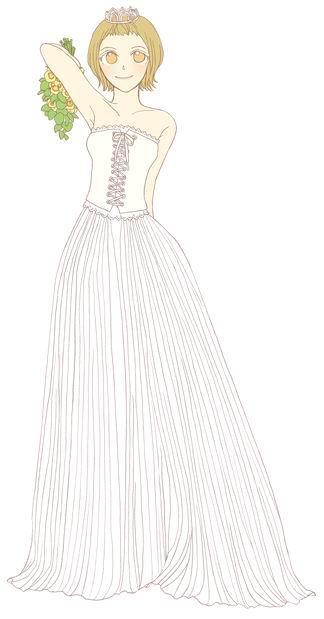 婚纱手绘图|微刊 - 悦读喜欢