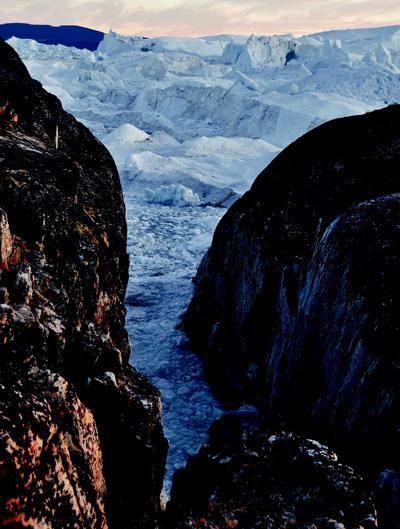 冰川岛上猎奇 格陵兰岛冰川巡航记