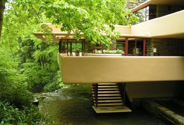 《室内设计大包袱》 赖特流水别墅平面图赏析
