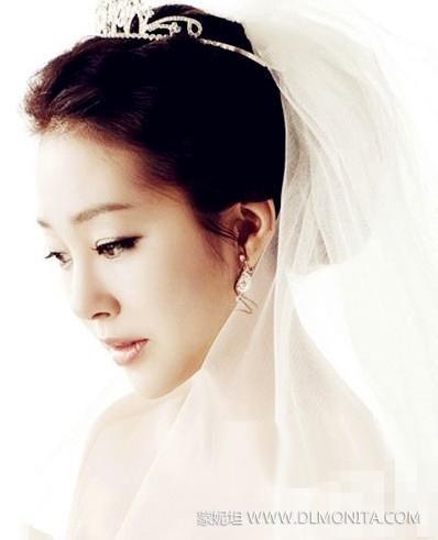 新娘皇冠发型