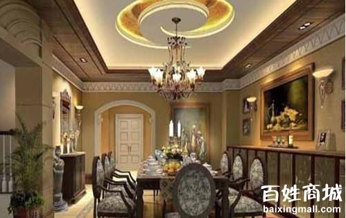 欧式餐厅装修效果图 品质生活的彰显