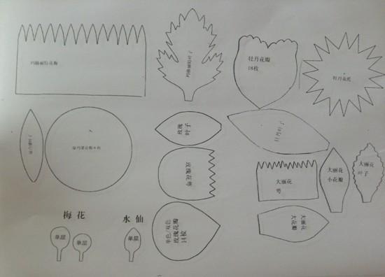 儿童圆形扇形简笔画