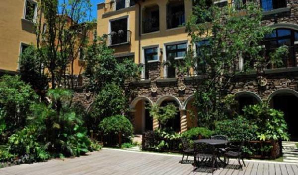 现代景观设计中的植物空间营造