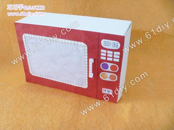 纸盒手工制作电视机