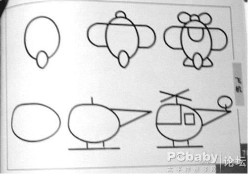 动物园儿童画简笔画内容图片展示