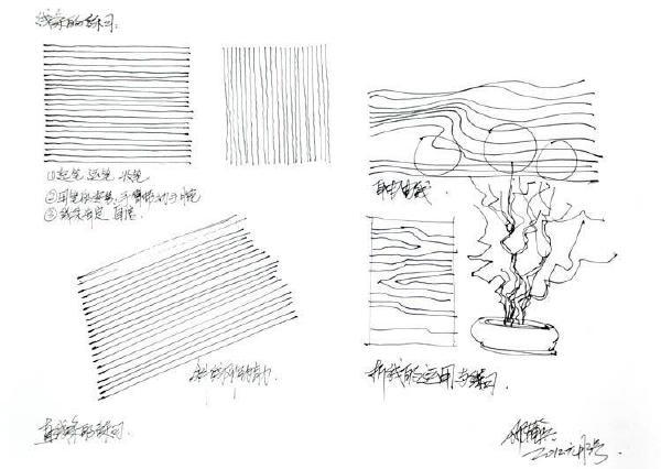 很多的沙发单体都是又方体的解剖而成,如下图多个角度的简单一点透视