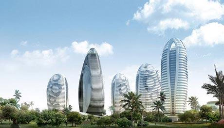【建筑设计】三亚凤凰岛整体建筑设计