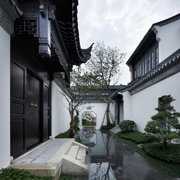 中式别墅案例#绿城61苏州桃花源|微刊
